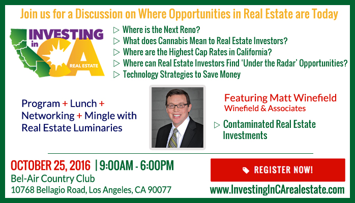 Investing in CA Real Estate 2016